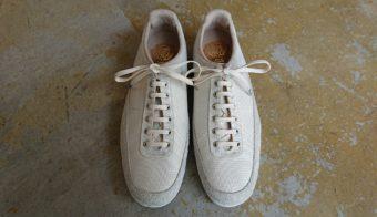 足に合った靴でウォーキング◎